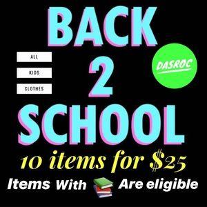 SALE 📚 Back 2 School 📚 Kids  clothes